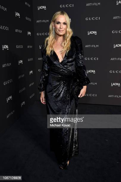 Molly Sims attends 2018 LACMA Art Film Gala honoring Catherine Opie and Guillermo del Toro presented by Gucci at LACMA on November 3 2018 in Los...