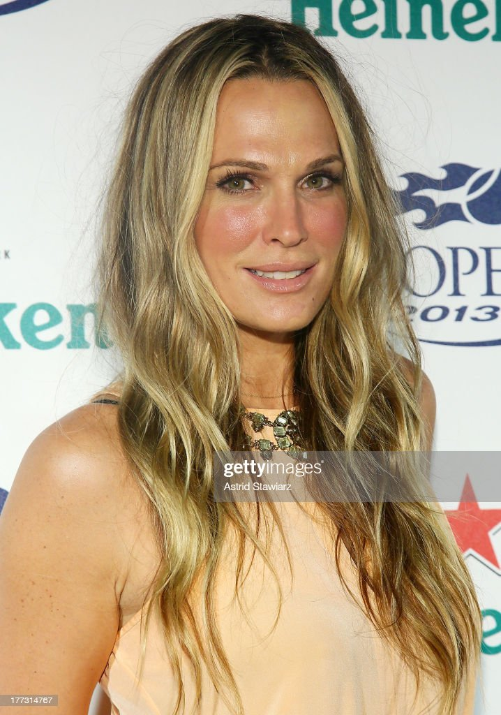 Molly Sims attends the 2013 US Open Kick-Off Party at PH-D Rooftop Lounge at Dream Downtown on August 22, 2013 in New York City.