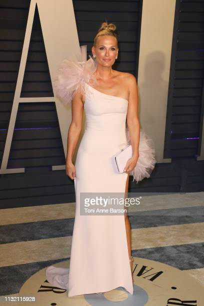 Molly Sims attends the 2019 Vanity Fair Oscar Party hosted by Radhika Jones at Wallis Annenberg Center for the Performing Arts on February 24 2019 in...