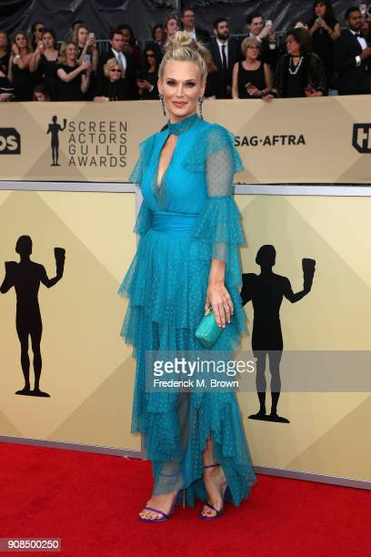 Molly Sims attends the 24th Annual Screen Actors Guild Awards at The Shrine Auditorium on January 21 2018 in Los Angeles California 27522_017