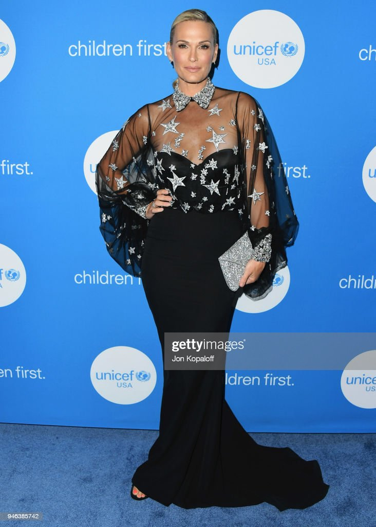 Molly Sims attends the 7th Biennial UNICEF Ball at the Beverly Wilshire Four Seasons Hotel on April 14, 2018 in Beverly Hills, California.