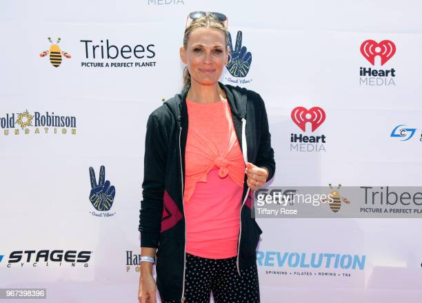 Molly Sims attends the 8th Annual Pedal On The Pier Fundraiser at Santa Monica Pier on June 3 2018 in Santa Monica California