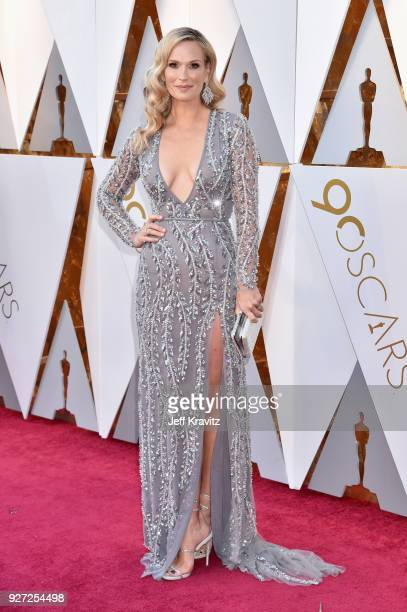 Molly Sims attends the 90th Annual Academy Awards at Hollywood Highland Center on March 4 2018 in Hollywood California