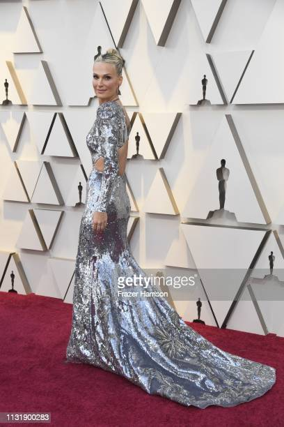Molly Sims attends the 91st Annual Academy Awards at Hollywood and Highland on February 24 2019 in Hollywood California