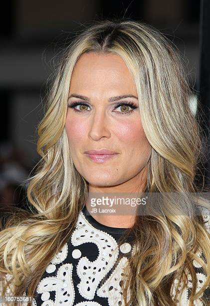 Molly Sims attends the 'Identity Thief' Premiere held at Mann Village Theatre on February 4, 2013 in Westwood, California.