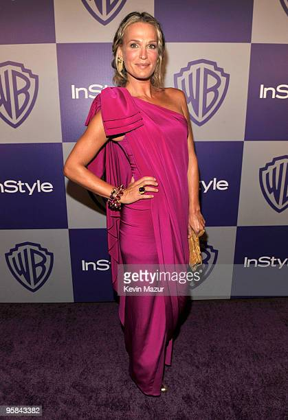 Molly Sims attends the InStyle and Warner Bros 67th Annual Golden Globes postparty held at the Oasis Courtyard at The Beverly Hilton Hotel on January...