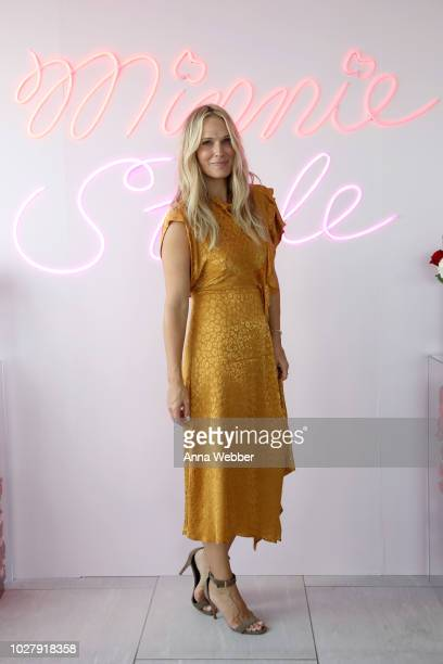 Molly Sims attends the #MinnieStyle Suite celbrating Minnie Mouse's 90th Anniversary at Nomo Soho Hotel on September 6 2018 in New York City