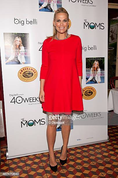Molly Sims attends The MOMS Breakfast Mamarazzi With Molly Sims at Artisanal Fromage Bistro on January 29 2015 in New York City