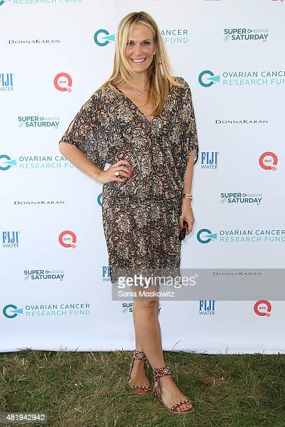 Molly Sims attends the Ovarian Cancer Research Fund's Super Saturday NY at Nova's Ark Project on July 25 2015 in Water Mill New York