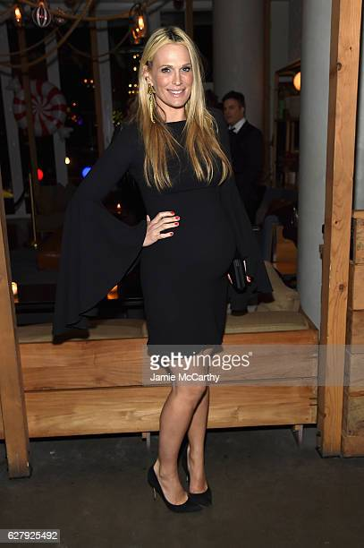 Molly Sims attends the Paramount Pictures with The Cinema Society Svedka Host An After Party For 'Office Christmas Party' at Mr Purple at the Hotel...