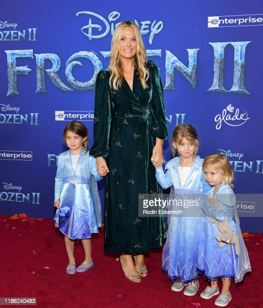 Molly Sims attends the Premiere of Disney's Frozen 2 at Dolby Theatre on November 07 2019 in Hollywood California