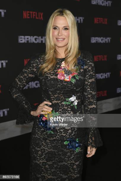 Molly Sims attends the Premiere Of Netflix's 'Bright' at Regency Village Theatre on December 13 2017 in Westwood California