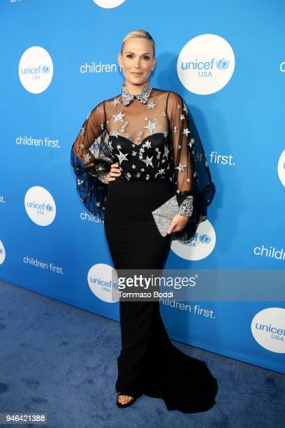 Molly Sims attends the Seventh Biennial UNICEF Ball Los Angeles on April 14 2018 in Beverly Hills California