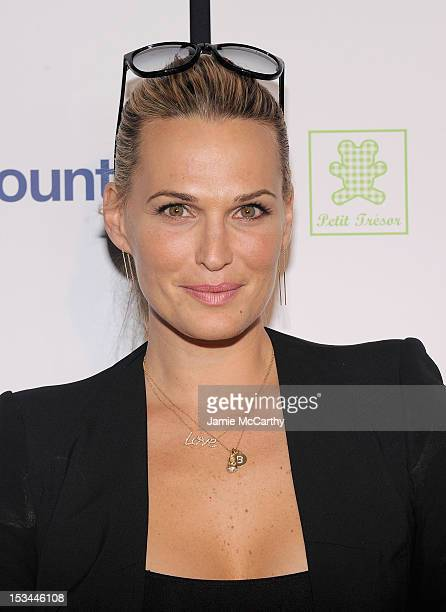 Molly Sims attends The Tracy Anderson Method Pregnancy Project at Le Bain At The Standard on October 5 2012 in New York City