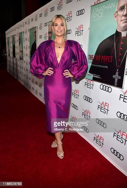 Molly Sims attends The Two Popes premiere during AFI FEST 2019 presented by Audi at TCL Chinese Theatre on November 18 2019 in Hollywood California