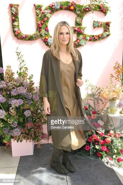Molly Sims attends UGG SS17 campaign luncheon hosted by Rosie HuntingtonWhiteley and Rachel Zoe at Catch LA on March 15 2017 in Los Angeles California