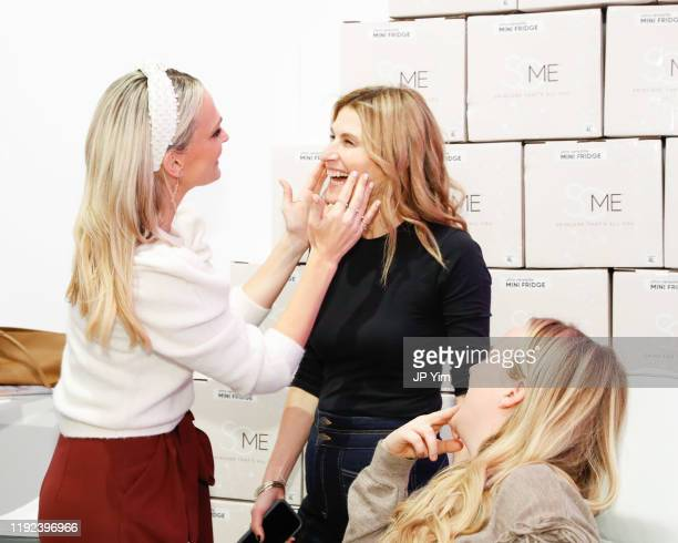 Molly Sims brand ambassador for SoME™ Skincare That's All You at The House of Modern Beauty talks with friends on December 6 2019 in New York City