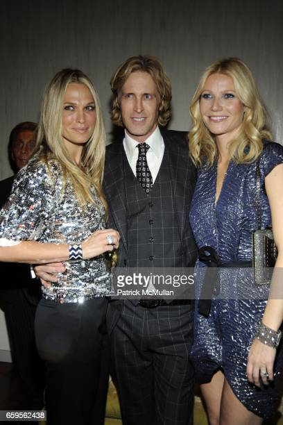 Molly Sims Bruce Hoeksema and Gwyneth Paltrow attend Gwyneth Paltrow and VBH's Bruce Hoeksema Host Cocktail Party for Valentino The Last Emperor at...
