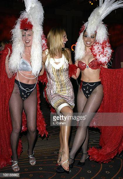 """Molly Sims, co-star of """"Las Vegas"""" during NBC All - Star Casino Night - 2003 TCA Press Tour - Reception in Hollywood, CA, United States."""