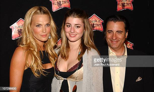 Molly Sims Dominik Garcia and Andy Garcia during Molly Sims Hosts the 3rd Annual 'Night With The Friends of El Faro' Benefit Arrivals at Henri Fonda...