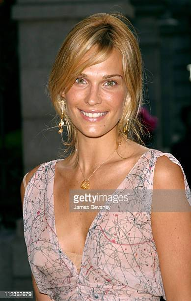 Molly Sims during Cocktails In The Garden: Coach Celebrates Summer at The Cooper-Hewitt National Design Museum in New York City, New York, United...