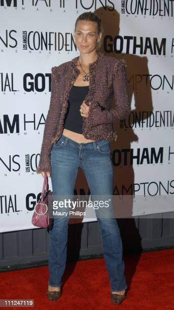 Molly Sims during LA Confidential Emmy / Fall Fashion Cover Party at Shelter Supper Club in West Hollywood California United States