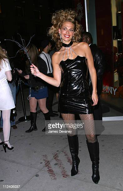 Molly Sims during DKNY's Annual Halloween Party at The DKNY Flagship Store in New York City New York United States