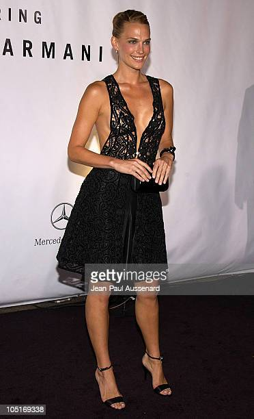 Molly Sims during Giorgio Armani Receives First 'Rodeo Drive Walk Of Style' Award at Rodeo Drive in Beverly Hills California United States
