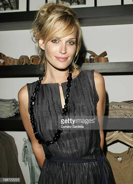 Molly Sims during Launch Of Club Monaco Home Benefiting A Place Called Home at Club Monaco in West Hollywood California United States