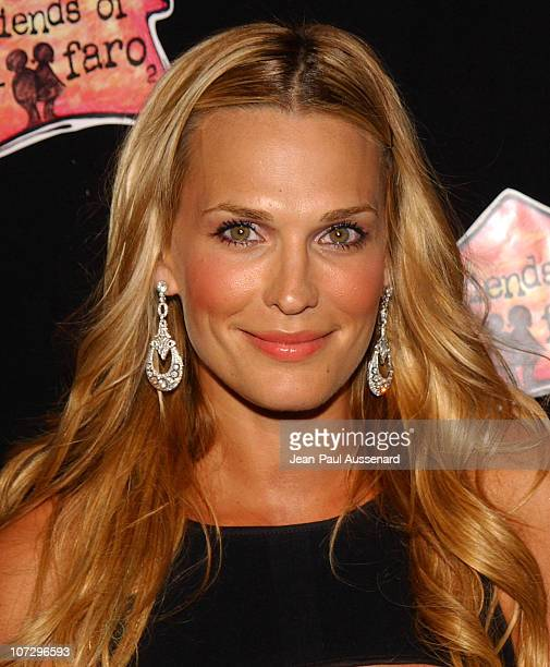 Molly Sims during Molly Sims Hosts the 3rd Annual Night With The Friends of El Faro Benefit Arrivals at Henri Fonda Theatre in Hollywood California...