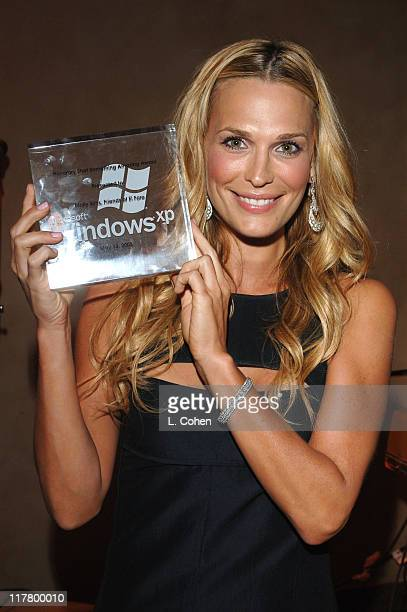 Molly Sims during Molly Sims Hosts the 3rd Annual Night with the Friends of El Faro Benefit at Henry Fonda Theatre in Los Angeles California United...