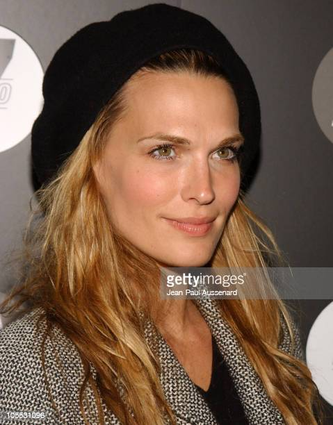 Molly Sims during Motorola's Seventh Anniversary Party to Benefit Toys for Tots Arrivals at American Legion Hall in Los Angeles California United...