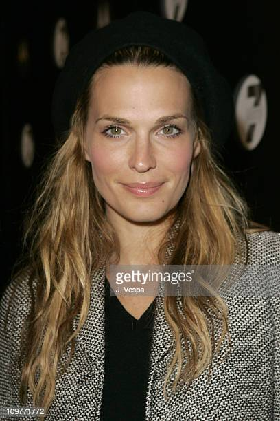 Molly Sims during Motorola's Seventh Anniversary Party to Benefit Toys for Tots Red Carpet at American Legion in Los Angeles California United States