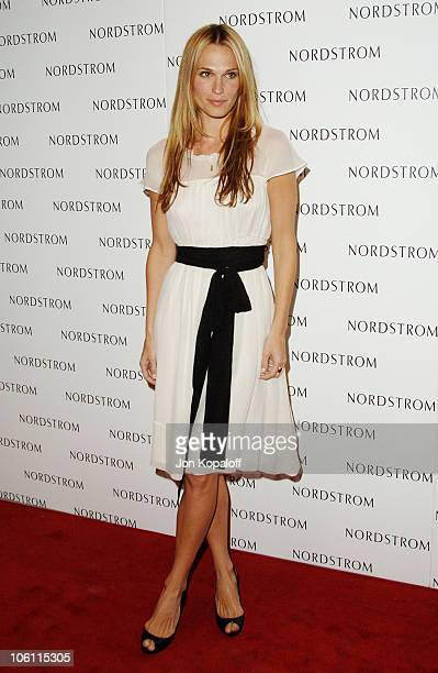 Molly Sims during Nordstrom Topanga Celebrates its Relocation with a Star Studded Gala Arrivals at Nordstrom Topanga in Woodland Hills California...