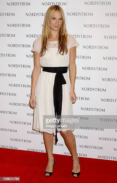 Molly Sims during Nordstrom Topanga Celebrates Its Relocation With A Star Studded Gala Arrivals at Nordstrom Topanga in Canoga Park California United...