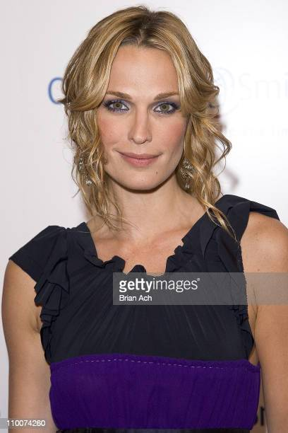 Molly Sims during Operation Smile's Smile Collection Charity Gala at Skylight Studios in New York New York United States