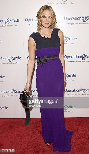Molly Sims during Operation Smile's Smile Collection Charity Gala at the Skylight Studios in New York New York