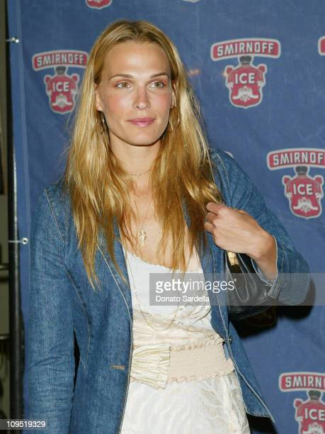 Molly Sims during Smirnoff Ice Endeavor Talent Agency Preparty for the MTV Movie AwardsArrivals at Pacific Design Center in Los Angeles California...
