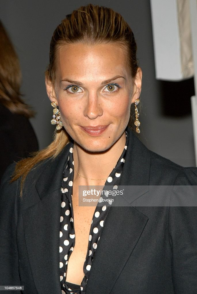 Molly Sims during 'The 72 Names of God' by Kabbalist Rabbi Yehuda Berg at The New Museum of Contemporary Art in New York City, New York, United States.