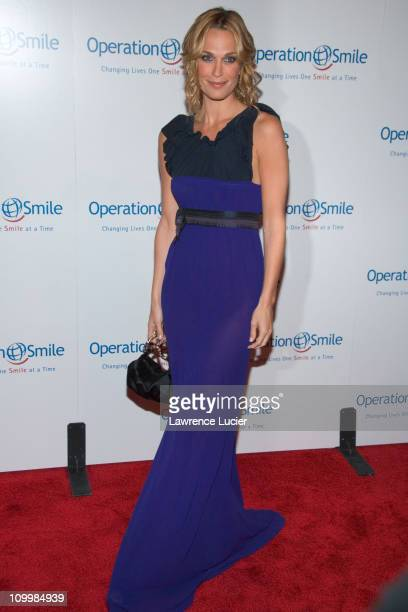 Molly Sims during The Smile Collection - Operation Smile's Annual Charity Dinner and Live Auction at Skylight Studios in New York, NY, United States.