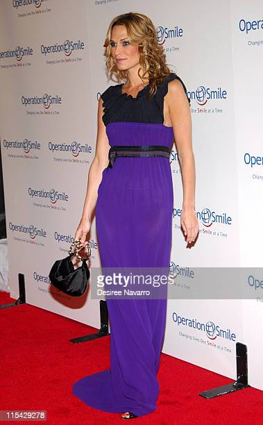 """Molly Sims during """"The Smile Collection"""" - Operation Smile's Annual Charity Dinner and Live Auction at Skylight Studios in New York, NY, United..."""