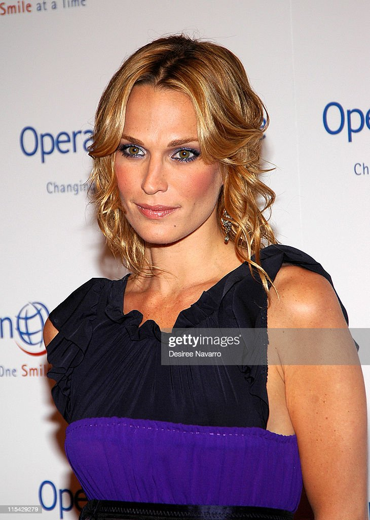 Molly Sims during 'The Smile Collection' - Operation Smile's Annual Charity Dinner and Live Auction at Skylight Studios in New York, NY, United States.