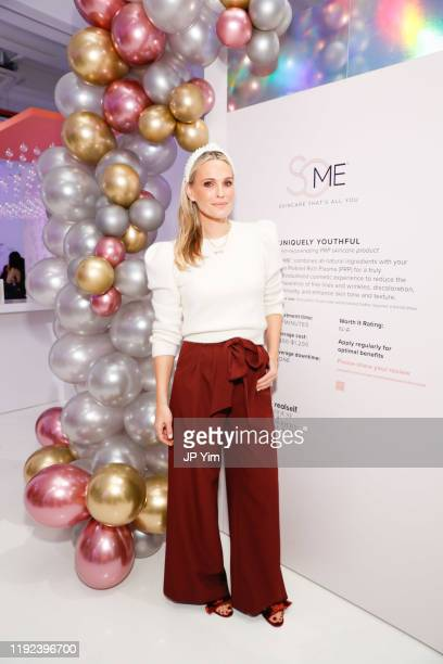 Molly Sims is announced as brand ambassador for SoME™ Skincare That's All You at The House of Modern Beauty on December 6 2019 in New York City