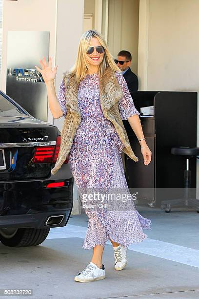 Molly Sims is seen on February 03 2016 in Los Angeles California