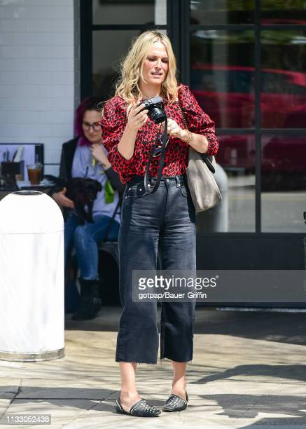 Molly Sims is seen on March 26 2019 in Los Angeles California