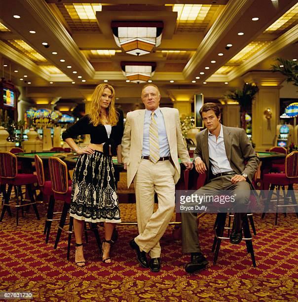 Molly Sims plays Delinda Deline James Caan plays Big Ed Deline and Josh Duhamel plays Danny McCoy in the tv series Las Vegas