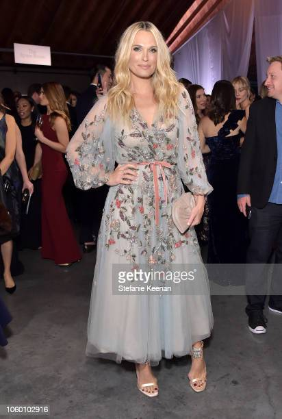 Molly Sims poses at the 2018 Baby2Baby Gala Presented by Paul Mitchell at 3LABS on November 10 2018 in Culver City California