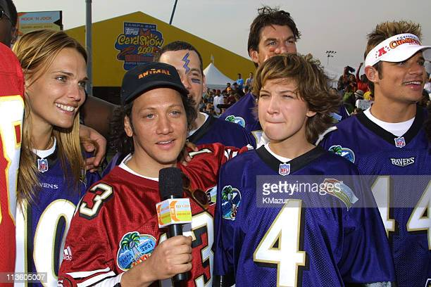 Molly Sims Rob Schneider Colleen Haskell and 98 Degrees