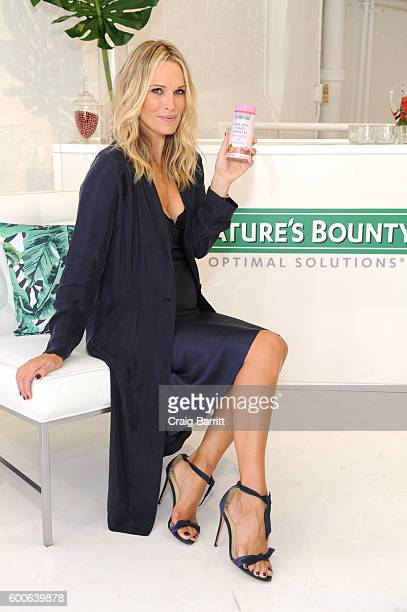 Molly Sims shares beauty secrets and how she fits Nature's Bounty Hair Skin Nails Gummies into her routine Beauty Bar at Nature's Bounty Celebrity...