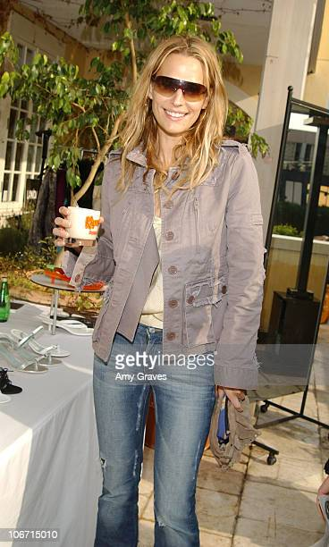 Molly Sims with a Kahlua Mudslide during Frederic Fekkai Oscar Beauty And Fashion Suite Day 3 at Frederic Fekkai in Beverly Hills California United...